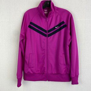 ADIDAS Pink Zip Light Jacket